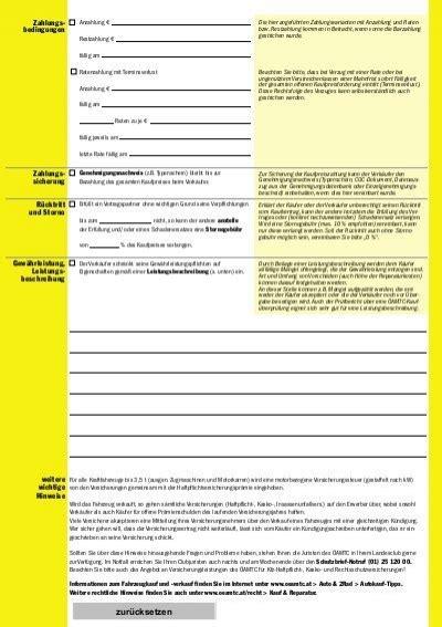 Kaufvertrag Motorrad Mit Ratenzahlung by Kaufvertrag In Raten Kaufvertrag In Raten Kaufvertrag In