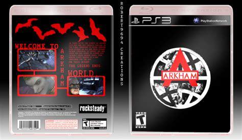 Batman Arkham World batman arkham world playstation 3 box cover by robert9694