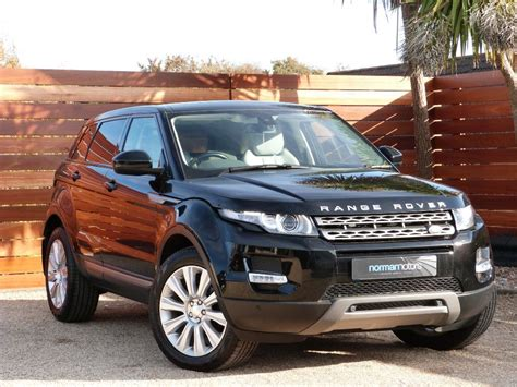 black land rover used black land rover range rover evoque for sale dorset