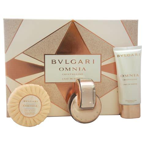 Parfum Original Bvlgari Omnia Crystalline Leau De Parfum Edp Tester bvlgari omnia crystalline l eau de parfum by for 3 pc gift set