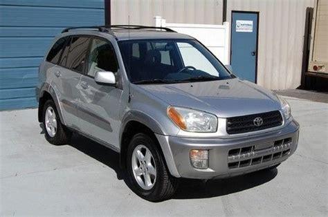 2001 Toyota Rav4 Mpg Buy Used Warranty 2001 Toyota Rav4 4x4 5 Speed Manual 27