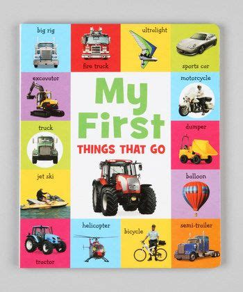 My Things That Go my things that go book from zulily leyton