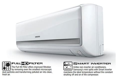Ac Indoor Samsung samsung max 24 000 btu mini split air conditioner system