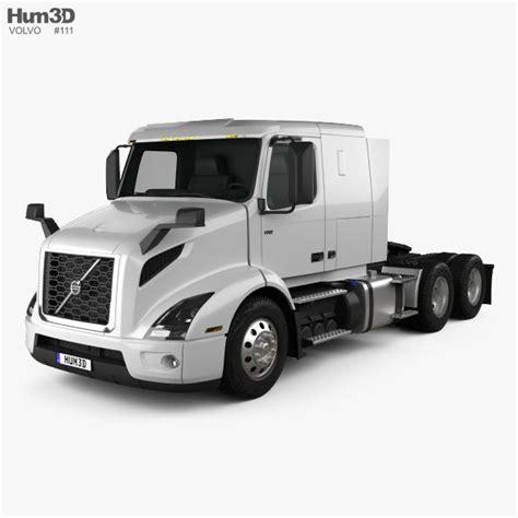volvo truck models volvo vnr 400 tractor truck 2018 3d model hum3d