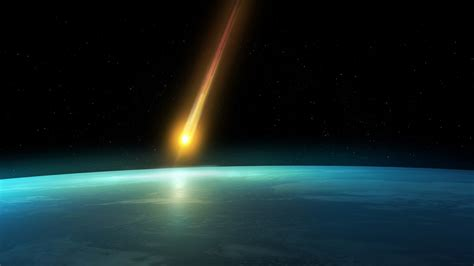 falling comet in the earth s atmosphere background hd falling comet in the earth s atmosphere background hd