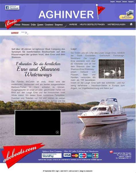 aghinver boat company ireland bootstourismus waterways handbook online