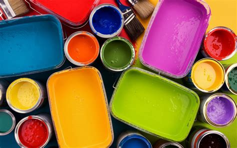multi colored paint wallpapers and images wallpapers