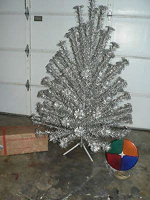 aluminum christmas tree collection on ebay