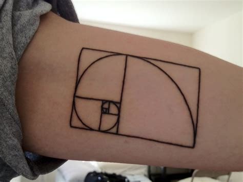 golden tattoo golden ratio best ideas on the web