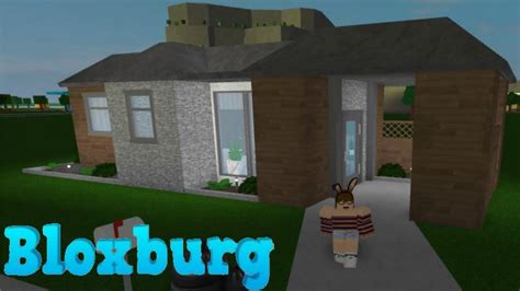 how to build a house for 10k bloxburg aesthetic starter house build 10k