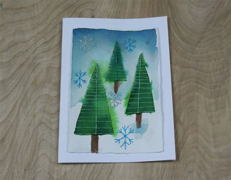 Are My Borders Gift Cards Still Good - embroidery on cards stitching holiday cards