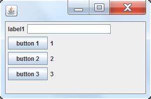 doing without a layout manager absolute positioning the swing java positioning gui component with without layout