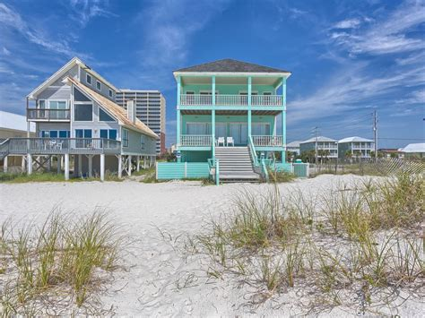gulf shores house rentals by owner sea foam gulf shores gulf front vacation vrbo