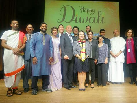 Dc Mayor S Office by Top Dc Officials Celebrate Third Annual Diwali At