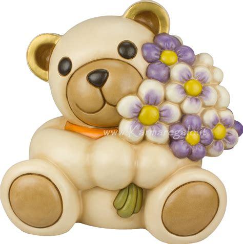 applique thun teddy maxi porge mazzo di fiori thun