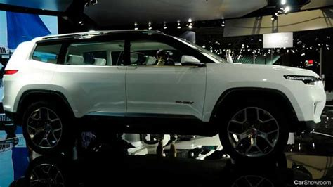 jeep compass 7 seater jeep yuntu concept previews 7 seater