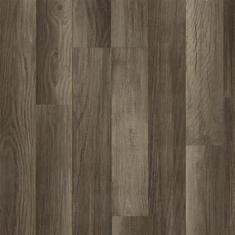 Shop Style Selections Aged Gray Oak 7.59 in W x 4.23 ft L