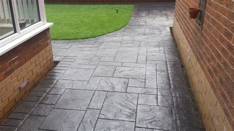 what is pattern imprinted concrete pattern imprinted concrete driveways wigan dhad