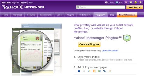 membuat yahoo messenger cara memasang pingbox yahoo messenger di blog devid