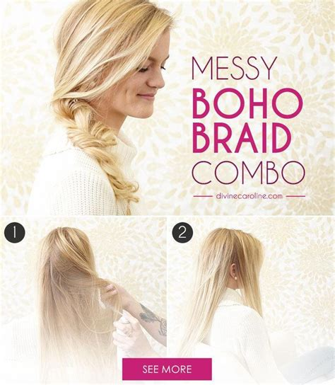 17 messy boho braid hairstyles to try gorgeous touseled 47 best hairstyles images on pinterest beauty tips