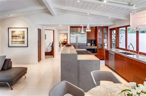 montecito beach villa mid century modern architecture