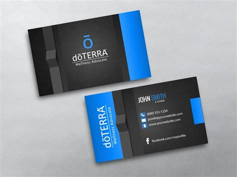 doterra business card template doterra business card template car interior design
