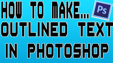 Letter Outlines Photoshop by How To Outline Letters In Photoshop Quantum Petshop Photoshop Text Tutorials Easy Outline