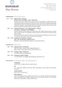Best New Resume Formats by Latest Resume Format 2016 Resume Format Trends