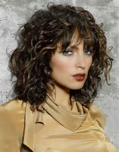 Layered Curly Haircuts
