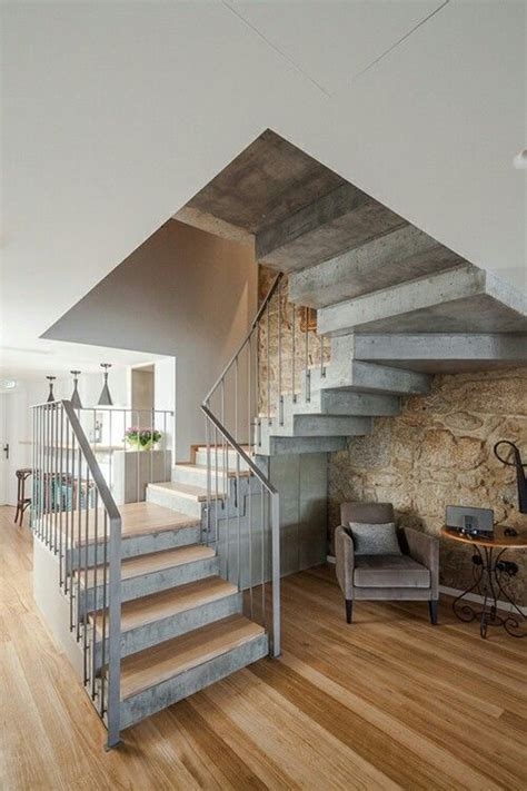 Cement Stairs Design The 25 Best Concrete Stairs Ideas On Pinterest Concrete Staircase Contemporary Stairs And