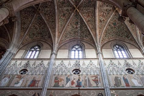 What Is Cathedral Ceiling by File Uppsala Cathedral Wall And Ceiling Paintings Jpg