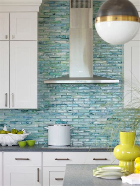 blue tile kitchen backsplash cheap glass tile kitchen backsplash decor ideas