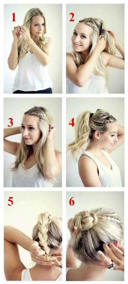 easy hairstyles morning 20 chic bun hairstyles we love updo the morning and