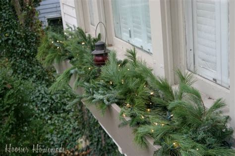 youtube how to decorate a christmas window box outdoor decorations hoosier
