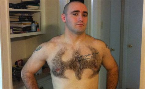 heavy hair on vigina batman chest hair geek it out pinterest batman