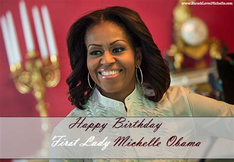 Michelle Obama Birthday | michelle obama birthday
