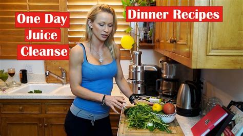 One Day Detox Flush by One Day Juice Cleanse Dinner