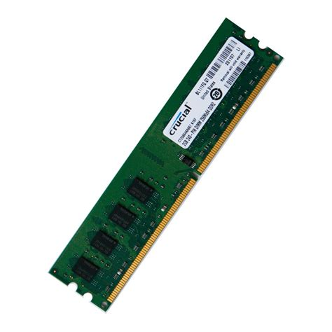 Memory Pc Ddr2 2gb Crucial 2gb Ddr2 Pc2 5300 667mhz Desktop Memory Ram