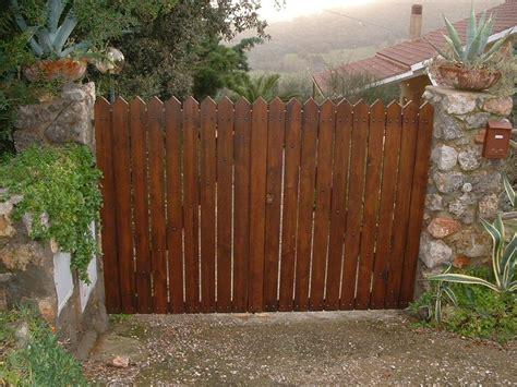 cancelletti in legno da giardino cancello in legno di castagno cancelli in legno