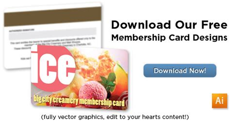 free membership card template finding a plastic membership card solution for seven coves