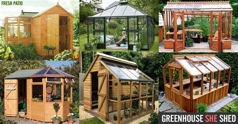 she sheds kits greenhouse she shed 22 awesome diy kit ideas
