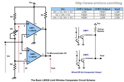 Kr04536 Lm339 Single Supply Comparators 25 peak indicator led