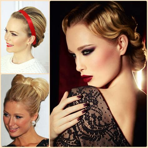 elegant hairstyles for christmas party chic christmas party hairstyles for 2016 home 187 new medium