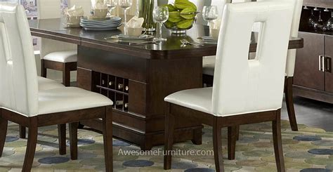 dining table with wine storage dining room tables with storage marceladick com