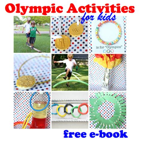 16 Summer Olympic Games, Crafts, and Treats for Kids