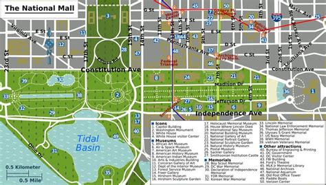 washington dc map national mall what is the national mall washington dc map