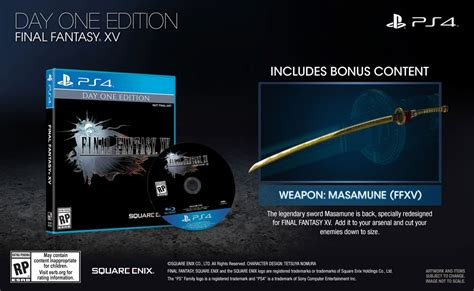 Ps4 Xv Day One Edition Reg 2 174 xv day one edition ps4 square enix