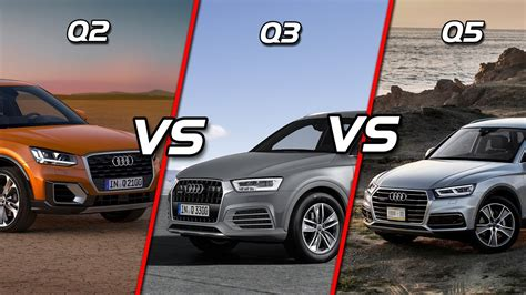 audi q3 and q5 2017 audi q2 vs audi q3 vs audi q5 feature length
