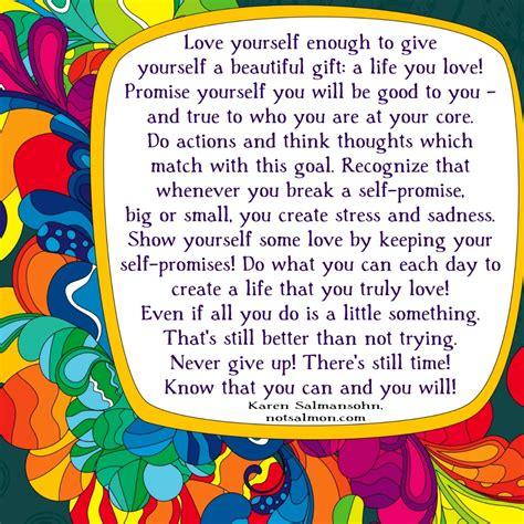 love    give   beautiful gift karen salmansohn