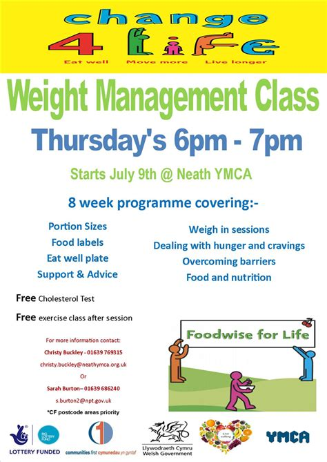 weight management course new 8 week weight management course neath fyi neath
